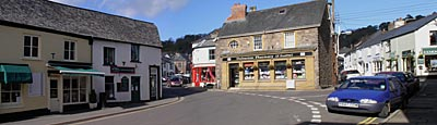 Dulverton Panorama March 2004